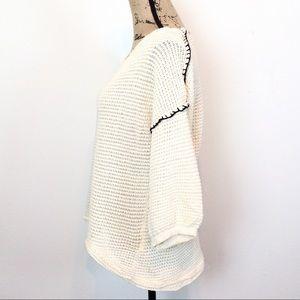 gimmicks by BKE Sweaters - Gimmicks BKE Waffle Knit Top L - B29-3
